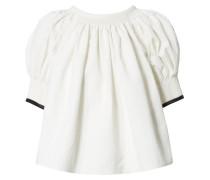Bluse mit Rückenausschnitt Crèmeweiß