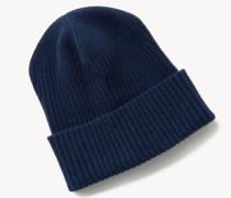 Woll-Mütze Blau