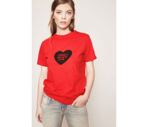 T-Shirt 'Lonely Herats Club' Rot