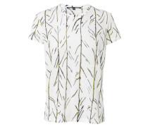 Gemustertes T-Shirt Weiß/Mutli