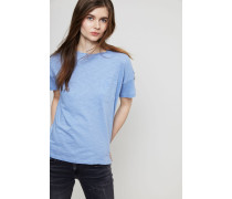 Oversize T-Shirt Blau