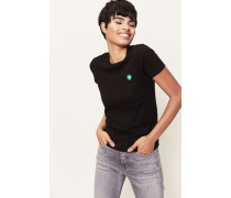 T-Shirt 'Uma' Schwarz