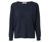 Cashmere-Sweatshirt Navy