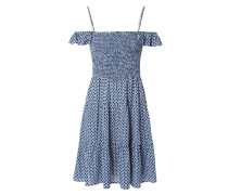 Print-Kleid 'Cabarita' Blau/Multi