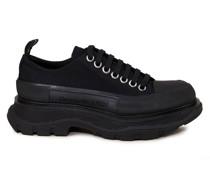 Canvas-Sneaker mit breiter Sohle