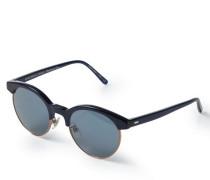 Sonnenbrille 'Ezelle' Blau/Kupfer