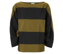Gestreifte Shirt 'Carus' Navy/Khaki