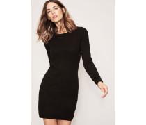 Cashmere-Kleid 'Doreen' Schwarz