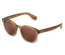 Sonnenbrille 'Cary Grant' Hellbraun