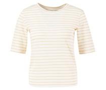 Gestreiftes T-Shirt /Orange