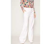Weite Hose 'Wide Leg Tailored' Ivory