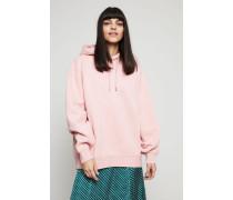 Oversized Kapuzen-Sweatshirt 'Yala' Pink Melange