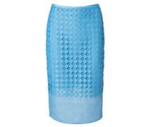 Midirock 'Twig Lace Pencil Skirt' Blau