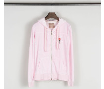 Sweat-Jacke 'Vidia LS' Bubble Gum