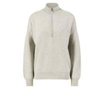 Cashmere-Pullover mit Reißverschluss
