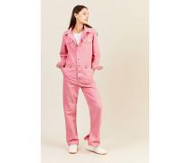 Jeans-Jumpsuit Pink