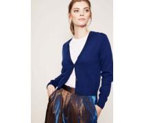 Woll-Cardigan 'Tienke' Blau