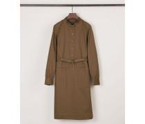 Hemdblusenkleid 'Uschi' Khaki