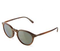 Sonnenbrille 'Rue Morbeuf' Braun/Gold