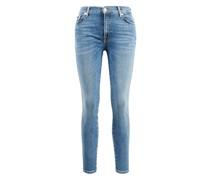 Jeans 'The Skinny Crop' Hellblau