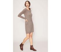 Cashmere-Kleid 'Doreen' Taupe