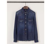 Jeanshemd 'Western Shirt' Indigo