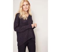 Lurex-Pullover Marinebau/Kupfer