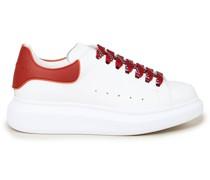Sneaker mit breiter Gummisohle /Rot