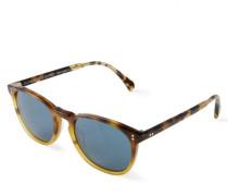Sonnenbrille 'Finley' in Horn-Optik Braun