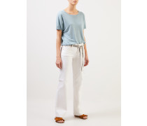 Bootcut Jeans 'Tess Wide Leg Weiß