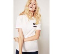 T-Shirt 'AC' Weiß