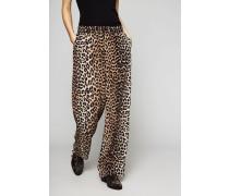 Seidenhose 'Fayette Silk' Leopard