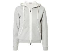 Baumwoll-Sweater 'Maglia' Grau Mélange