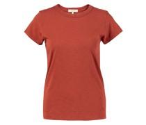 Rundhals-T-Shirt Rost