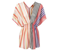 Tunika-Kleid mit Binde-Element Multi