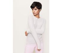 Cashmere-Pullover 'Marianne' Kreide