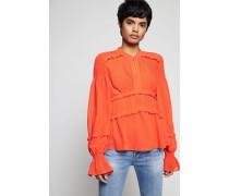 Bluse 'Stella Top' Spicy Orange