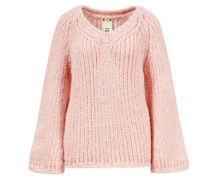 Cashmere-Wendepullover Rosa
