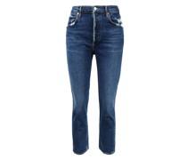 Jeans 'Riley' im used-look Dunkelblau