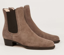 Verlourleder Chelsea-Boot 'Tronch. Donna' Taupe