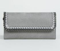 Portemonnaie mit Ketten-Umrandung Light Grey