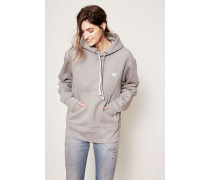 Kapuzen-Sweatshirt 'Ferris Face' Grau