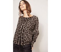 Cahmerepullover 'Daphne' Taupe Jaguar