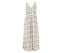 Midi-Kleid mit floralem Print Multi