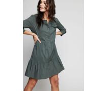 Baumwoll-Kleid mit Raffungen Pamtree
