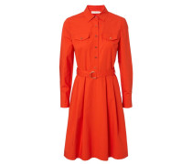 Hemdblusenkleid 'Derrick' Orange