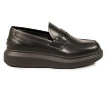 Leder-Loafer