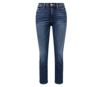 Jeans 'Le High Straight' Dunkelblau