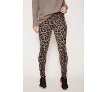 Cashmere-Leggings 'Debbie' Taupe Jaguar