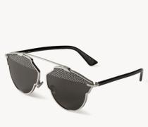 Verspiegelte Sonnenbrille 'So Real' Silber